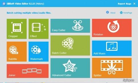 Download GiliSoft Video Editor 6.1.0 Full - phan mem chinh sua video manh me