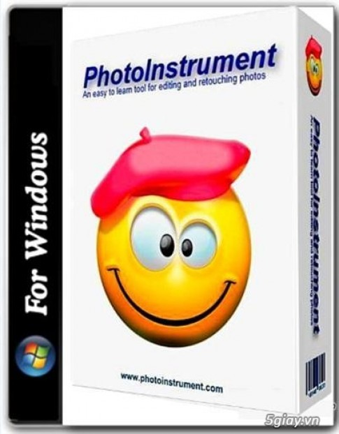 Download PhotoInstrument 6.7 Full - phan mem chinh sua anh lam min lan da
