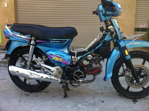 Dream Ex5 cua biker Hai Phong