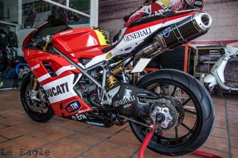 "Ducati 848 EVO do day ""sang chanh"" tai Sai Thanh"