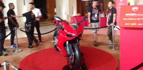Ducati 899 Panigale 2014 chinh thuc trinh lang tai Chau A