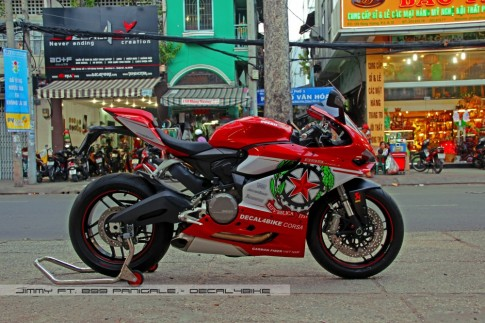Ducati 899 Panigale - Decal4Bike Corsa