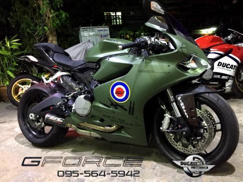 Ducati 899 Panigale độ cứng cáp theo phong cách nhà binh