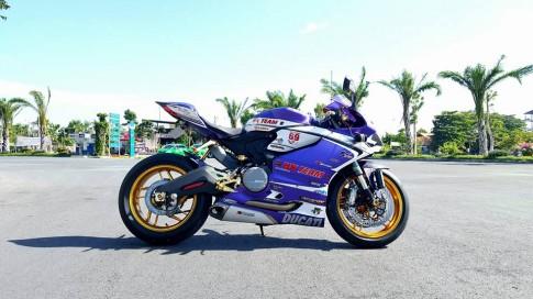 Ducati 899 Panigale độ độc đáo với một số chi tiết mạ vàng