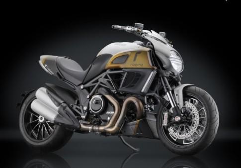 Ducati Diavel độ full option đồ chơi Rizoma