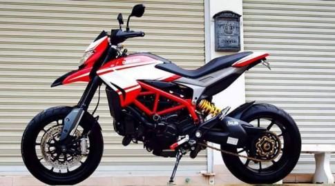 Ducati Hypermotard độ nhẹ với vài món đồ chơi kiểng