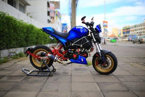 Ducati Mini độ phong cách cùng dàn đồ chơi kiểng
