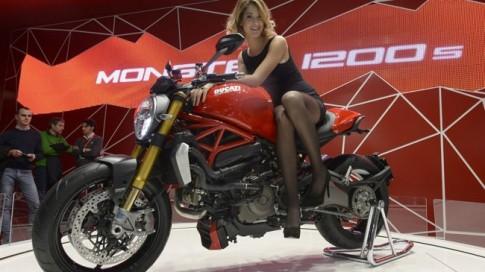 """Ducati Monster 1200 - """"Hoa hau"""" cua EICMA 2013"""