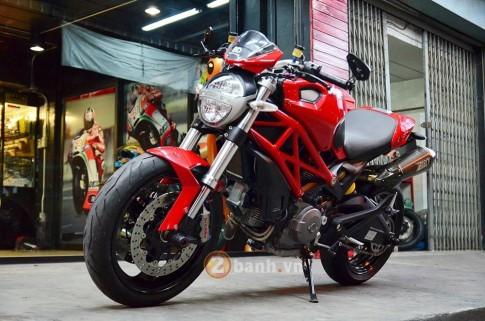 Ducati Monster 795 độ đơn giản với những món đồ chơi hàng hiệu