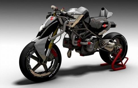 Ducati S2-Braida xe do phong cach doc dao