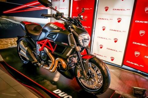 Ducati với 4 mẫu nổi bật về Việt Nam trong năm 2014