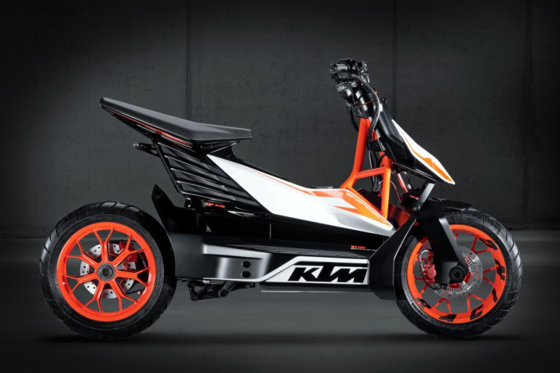 E-Speed chiếc scooter điện thể thao của KTM