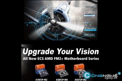 ECS gioi thieu loat bo mach chu AMD FM2 hoan toan moi