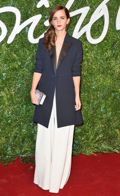 Emma Watson duoc vinh danh 'Bieu tuong thoi trang Anh'