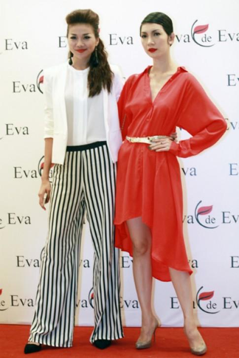 Eva de Eva bat mi show dien 'Dep Fashion Runway'