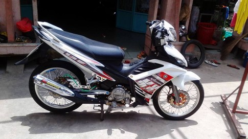 Exciter 135 do full kieng cuc phong cach