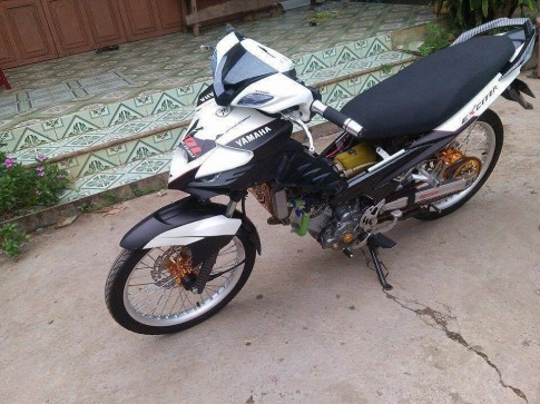Exciter 135 do phong cach Drag don gian