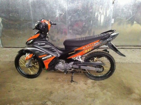 Exciter 135cc su tro lai mang phong cach 46 an tuong
