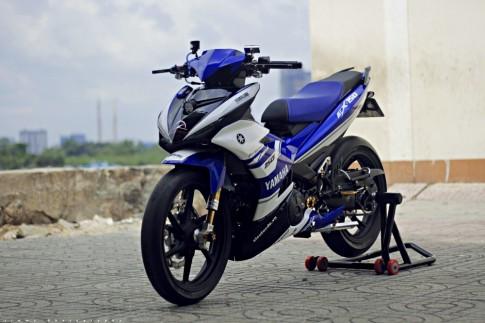 Exciter 150 dọ phien bản M1 MotoGP tại Sài Gòn