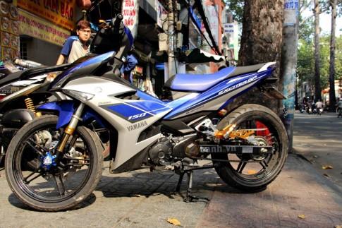 Exciter 150 dọn kiểng đầu tiên trên phố Sài Gòn
