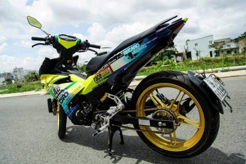 Exciter 150 Tem dau 46 Rossi cua Biker Sai Gon