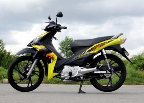 Exciter 150 và Axelo 125 Phân bố thị trường xe côn tay phổ thông