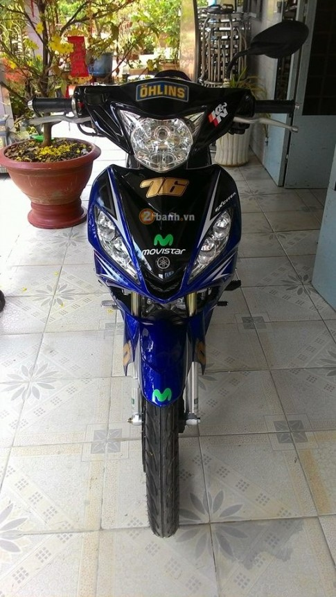 "Exciter 2010 ""tu quy"" cua Biker Tay Ninh"