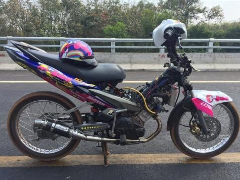 Exciter dau cua Biker Binh Duong