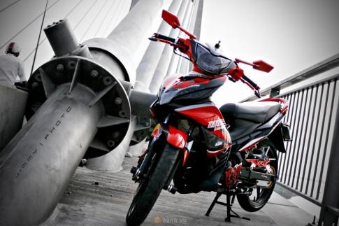 Exciter độ phiên bản KTM RedBull