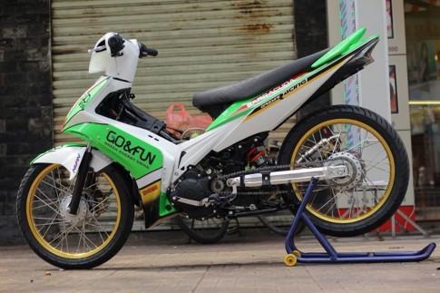Exciter do phong cach moto GP Go