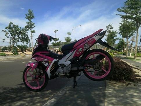Exciter hong 2015 xi tai teen girl cua biker nu tinh