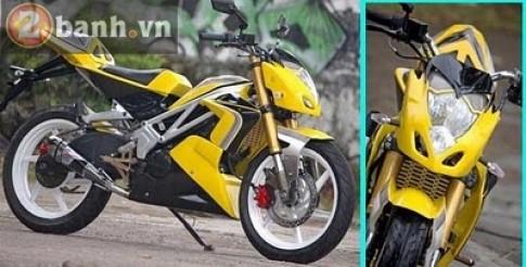 Exiter độ naked bike và transformer
