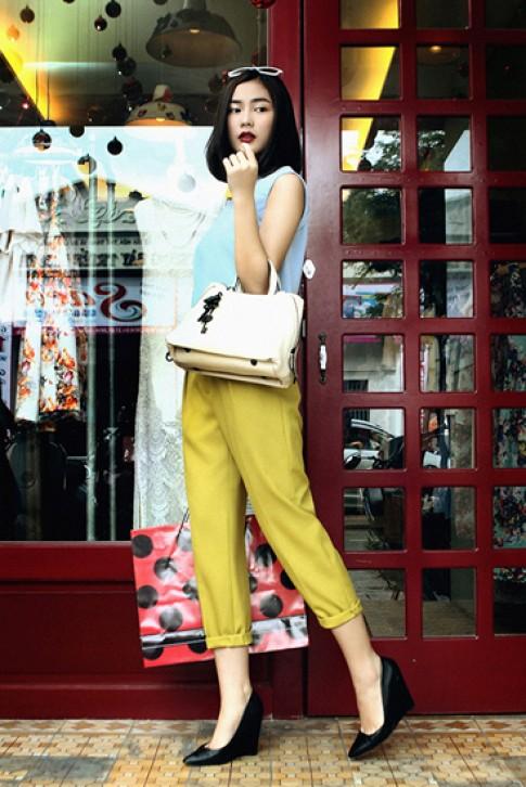Fashionista Viet noi bat tren pho voi gu mac thanh lich