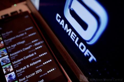 Gameloft giảm giá 50% 9 Windows Phone games