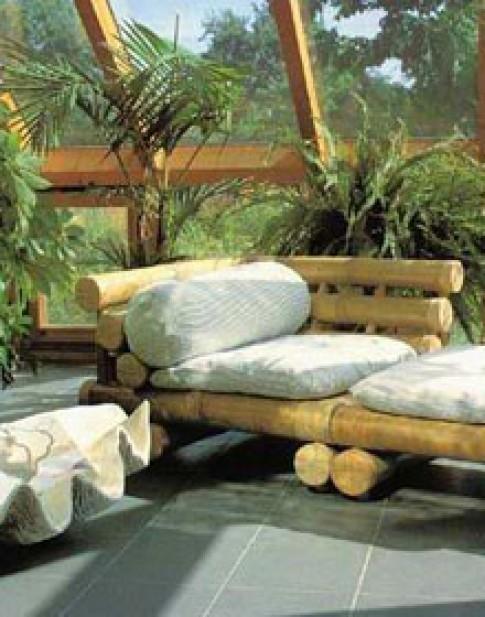 Ghế gỗ cho sân vườn