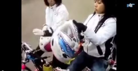 Giai dua Drag bike cho nu lieu co nen to chuc
