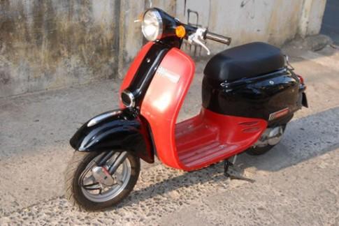 Giorno scooter Honda phong cach Vespa o Sai Gon