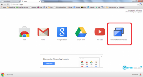 [Google Chrome] Dieu khien may tinh tu xa voi Chrome Remote Desktop
