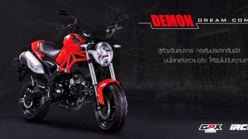 GPX Demon 125 doi thu nang ky cua Honda MSX 125