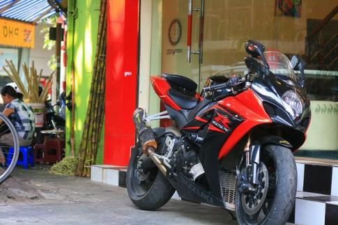 GSXR 1000cc 2007 và vài món đồ chơi