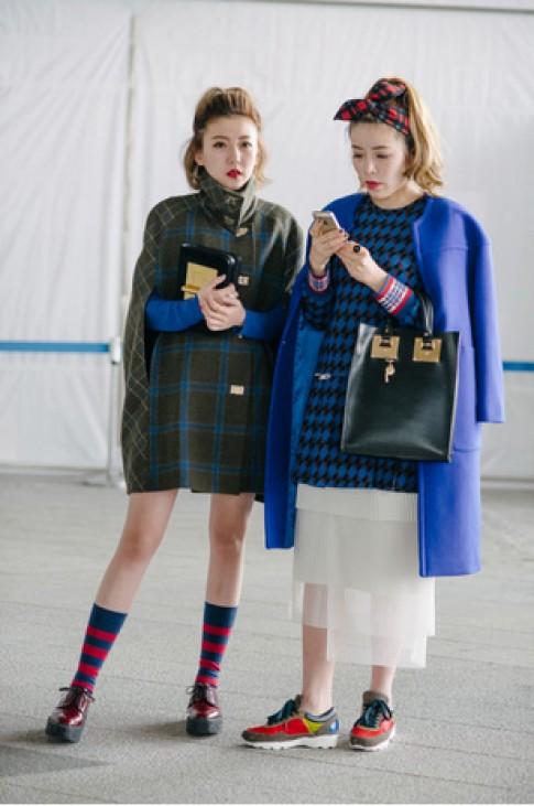 Gu mac an tuong cua tin do thoi trang Seoul Fashion Week