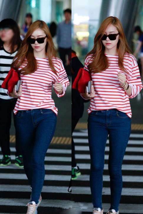 Gu mặc thời thượng của Jessica SNSD