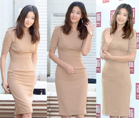 Gu thoi trang sang trong cua Jeon Ji Hyun