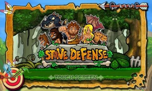 Hack vo han tien game Stone Defense - game thu thanh thoi ki do da hay nhat