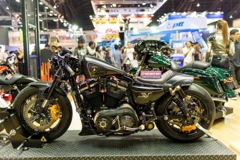 Harley-Davidson 48 Độ Cafe Racer tại Bangkok Motor Show 2015