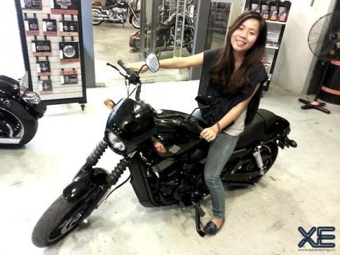 Harley Davidson Street 750 gia re dau tien ve Viet Nam