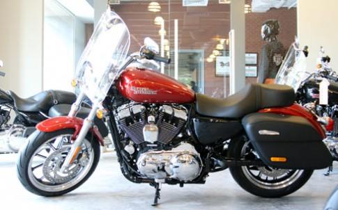 Harley-Davidson SuperLow XL1200T vừa về đến Việt Nam