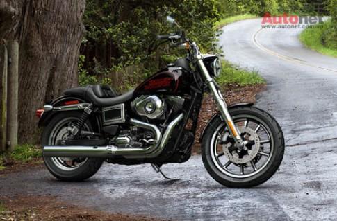"""Harley-Davidson """"tai sinh"""" dong Low Rider voi phien ban 2014"""
