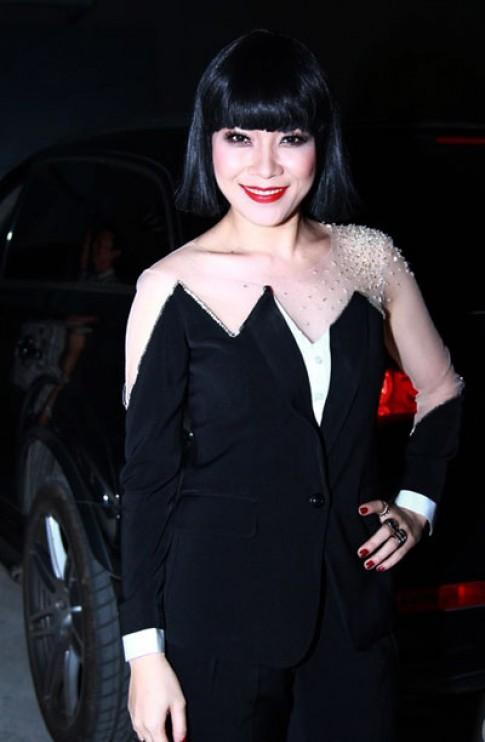 Hau truong trang diem, lam toc cua Vietnam Idol