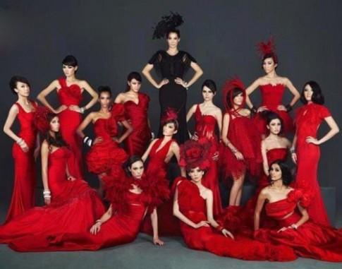 He lo hinh anh Thuy Trang tai Asia's Next Top Model